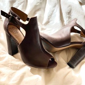 Vince Camuto: Cut-Out  peep toe heels